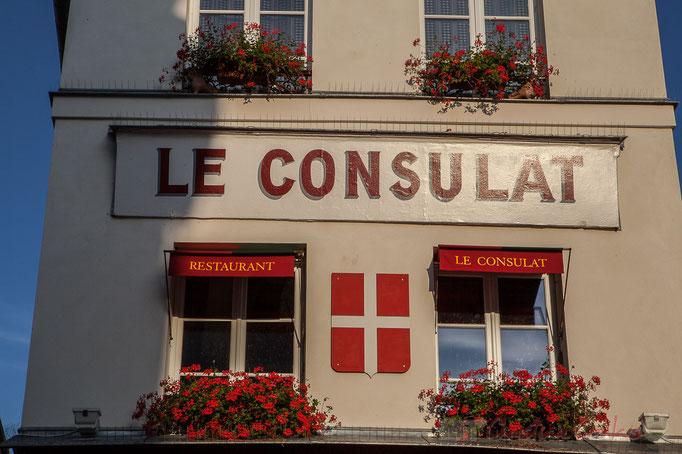 Le Consulat, 18 rue Norvins, Monmartre, Paris 18ème arrondissement