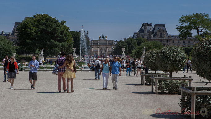Bassin rond, Jardin des Tuileries, Paris 1er