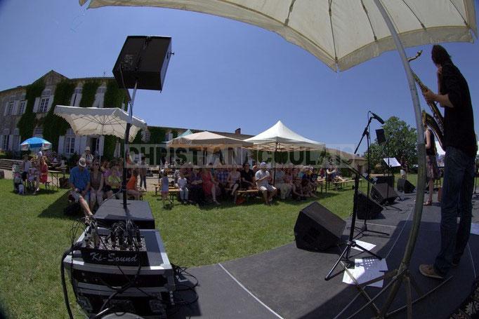 Festival JAZZ360 2014, Château Lestange