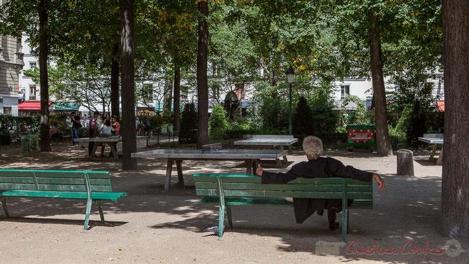 Quiétude, Square Armand Trousseau, Paris 11ème arrondissement