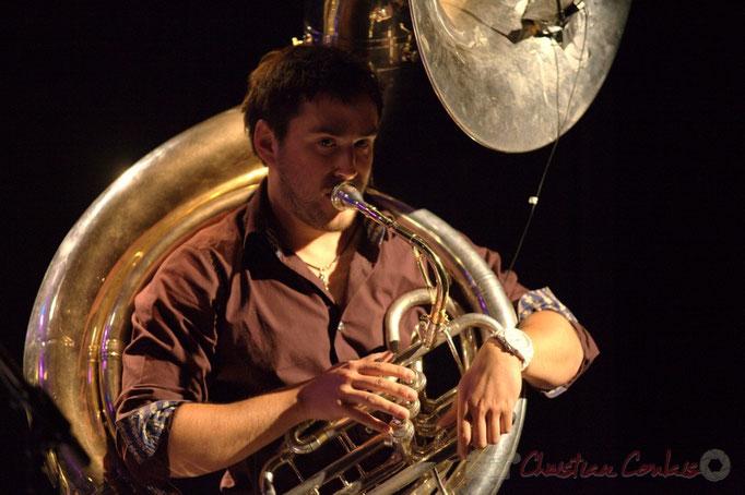 Damien Bachère; Manguidem Taf Taf Trio, Festival JAZZ360 2012, Cénac. 09/06/2012