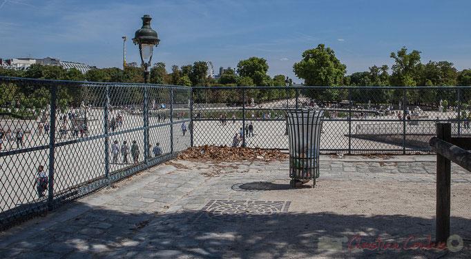 Terrasse de l'Orangerie, Jardin des Tuileries, Paris 1er
