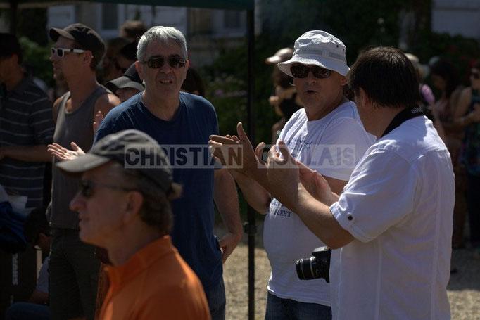 Richard Raducanu, créateur du Festival JAZZ360, château Lestange, Quinsac. 08/06/2014