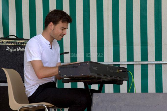 Festival JAZZ360 2014, Thomas Mayeras; Thomas Mayeras Trio, Cénac. 07/06/2014