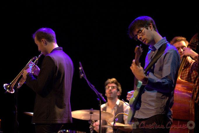 Régis Ferran, Thomas Doméné, Matthis Pascaud, Martin Jaussan, les Métropolitains, Festival JAZZ360 2013