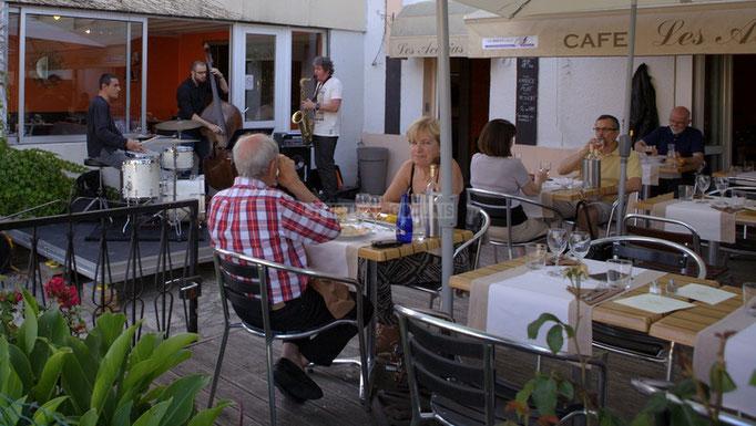 Souper-jazz au restaurant les Acacias, Soundscape Trio