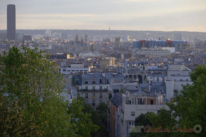 Parc de Belleville, Paris 20ème