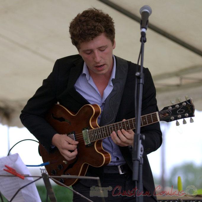 Festival JAZZ360 2015, Thomas Boudé