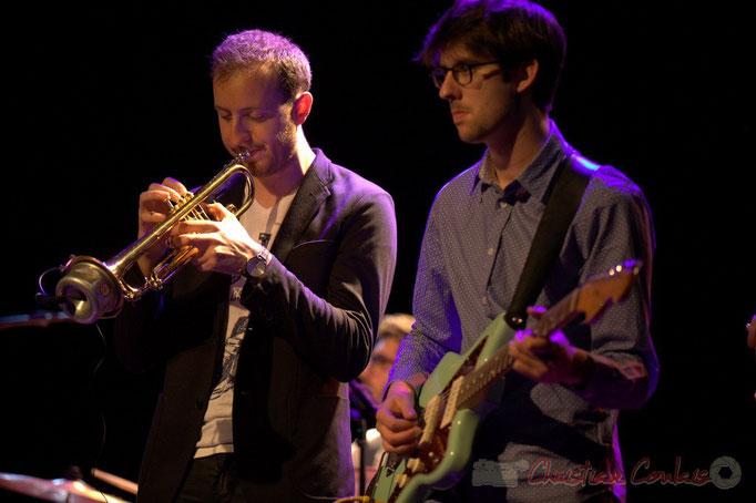 Guillaume Gardey de Soos, Matthis Pascaud, les Métropolitains, Festival JAZZ360 2013, Cénac. 08/06/2013