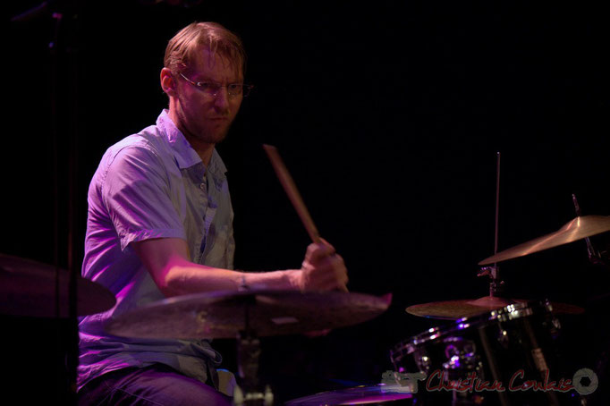 Festival JAZZ360 2015, Karl Jannuska; Thomas Savy Quintet. Cénac, 13/06/2015