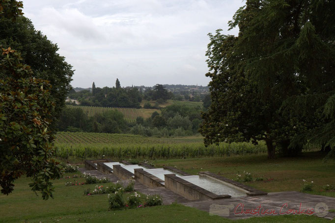 Festival JAZZ360 2015, Camblanes-et-Meynac depuis le Château Duplessy, Cénac