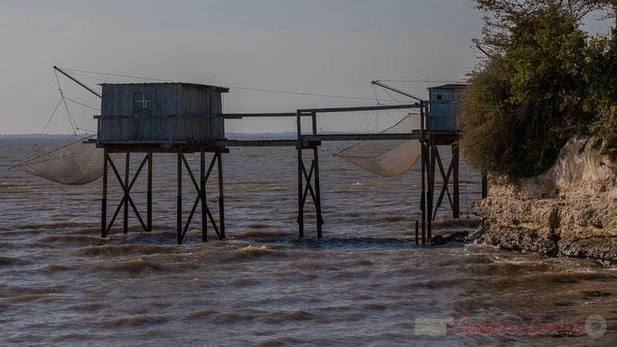 Carrelets et pontons, Talmont-sur-Gironde