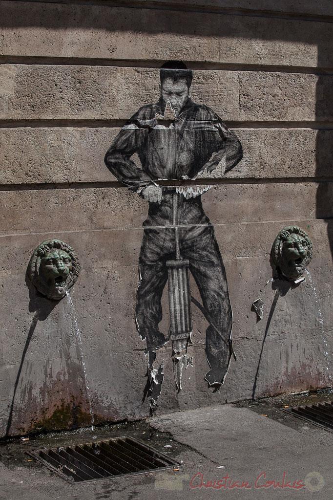 Fontaine de Charonne ou fontaine Trogneux, rue du Faubourg-Saint-Antoine / rue de Charonne, Paris 11ème arrondissement