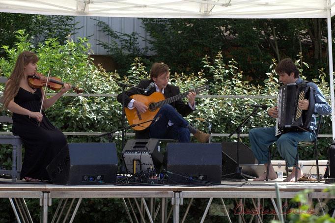 Festival JAZZ360 2015, Adèle Docherty, Loïc le Guillanton, Michaël Geyre; Züm Trio, Latresne, 14/06/2015