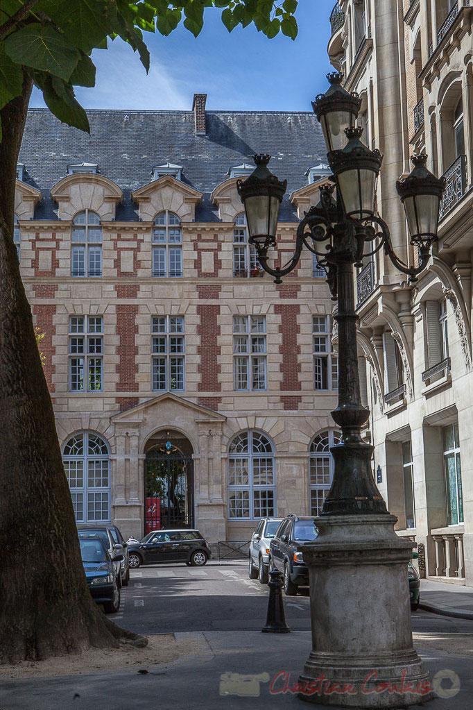 Institut Catholique de Paris, Rue de l'Abbaye / Rue Cardinal de Fürstemberg, Paris 6ème