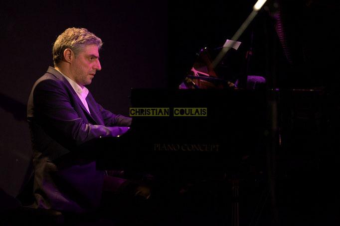 Festival JAZZ360 2014, Giovanni Mirabassi; Christophe Laborde Quartet feat Giovanni Mirabassi. Cénac, 06/06/2014