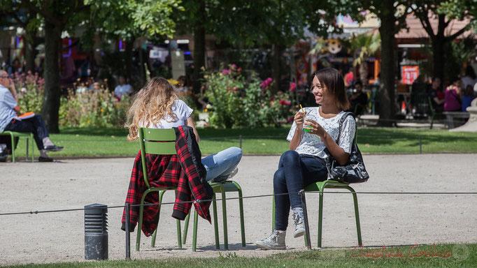 """""""Pause"""", Jardin des Tuileries, Paris 1er"""