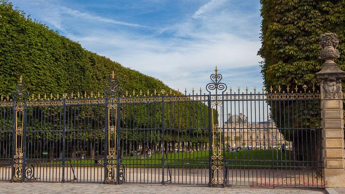 Jardin du Luxembourg, 23 hectares, Paris 6ème