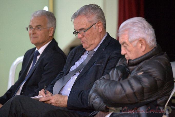 Gérard Poisbelaud, Jean-Marie Darmian, Philippe Madrelle