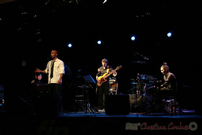 Xavier Duprat, Marco Codjia, Benoît Lugué, Vincent Sauve; Fada. Festival JAZZ 2010, Cénac. 14/05/2010