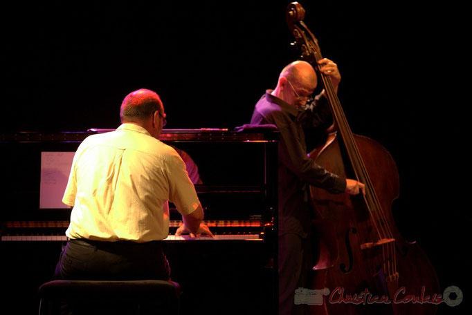 Alain Barrabès, Fred Lasnier; Jérôme Gatius New Orleans Big Four, Festival JAZZ360 2013, Cénac. 07/06/2013
