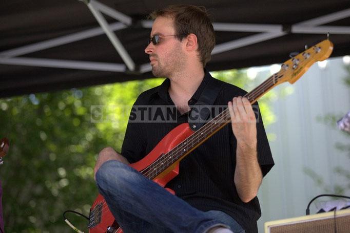 Baptiste Castets; Cadijo vagabond blues project, Festival JAZZ360 2014, Latresne. 08/06/2014