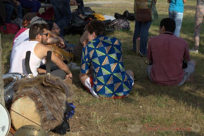 Elephant Bross Machine. Festival JAZZ360 2015, place du bourg de Cénac, 12/06/2015