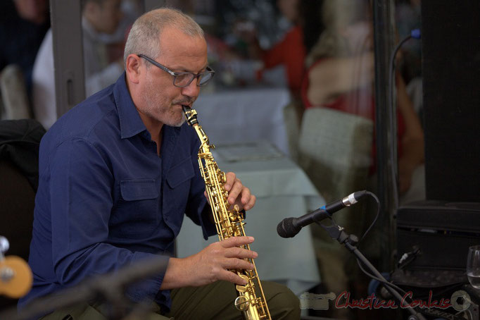 Festival JAZZ360 2015, François Corneloup. 13 juin 2015