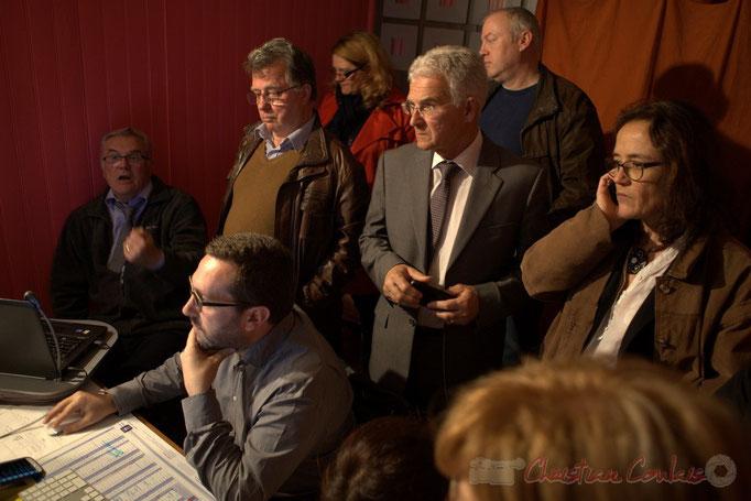 Jean-Marie Darmian et son équipe de campagne reçoivent les 23 résultats des communes