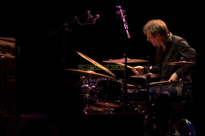 Festival JAZZ360 2014, Louis Moutin; Christophe Laborde Quartet feat Giovanni Mirabassi. Cénac, 06/06/2014