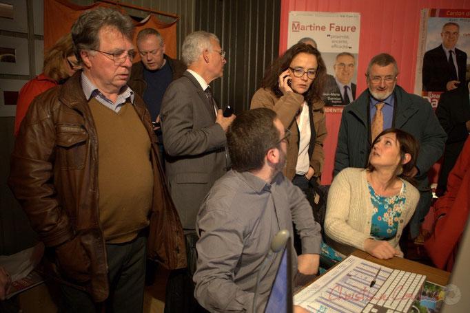 En présence d'Anne-Laure Fabre-Nadler, colistière de Jean-Marie Darmian