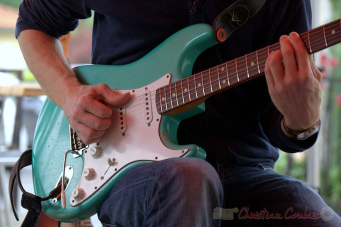Festival JAZZ360 2015, guitare de Christophe Maroye, Cénac. 13 juin 2015