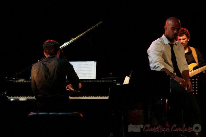 Xavier Duprat, Marco Codjia, Benoît Lugué; Fada. Festival JAZZ 2010, Cénac. 14/05/2010