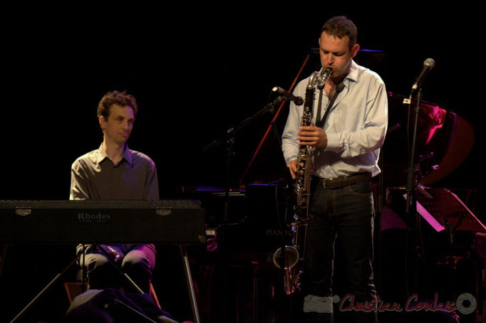 Festival JAZZ360 2015, Pierre de Bethmann, Thomas Savy; Thomas Savy Quintet. Cénac, 13/06/2015