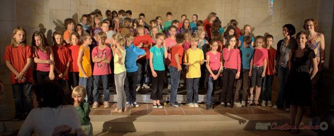 Festival JAZZ360 2012, Chorale Jazz des écoles de la Communauté de Communes des Portes de l'Entre-Deux-Mers