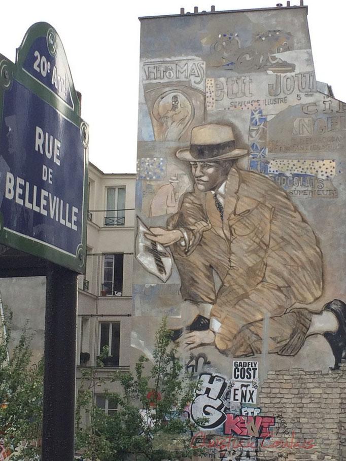 Rue de Belleville, Paris 20ème