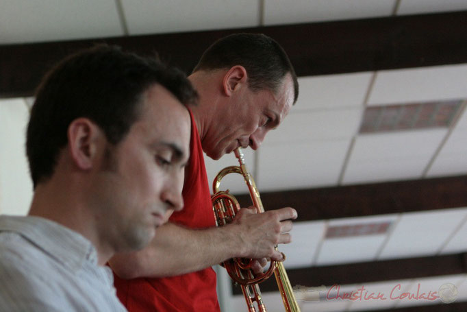 Médéric Collignon, MasterClass du Festival JAZZ360 2011, Cénac. 04/06/2011