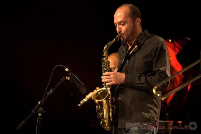 Mathieu Saint-Laurent; Slobodan Sokolovic Sextet. Festival JAZZ360 2012, Cénac. 08/06/2012