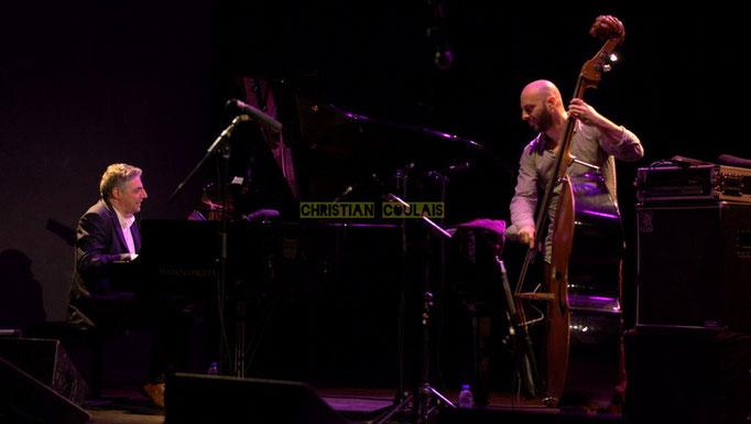 Festival JAZZ360 2014, Giovanni Mirabassi, Mauro Gargano; Christophe Laborde Quartet feat Giovanni Mirabassi. Cénac, 06/06/2014