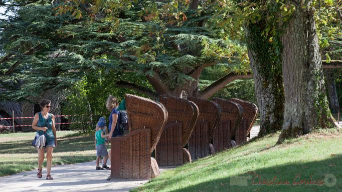 Le parc, Domaine de Chaumont-sur-Loire, Loir-et-Cher, Région Centre-Val-de-Loire. Mercredi 26 août 2015. Photographie © Christian Coulais