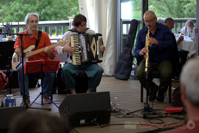 Festival JAZZ360 2015, Peuple Etincelle / François Corneloup, Camblanes-et-Meynac
