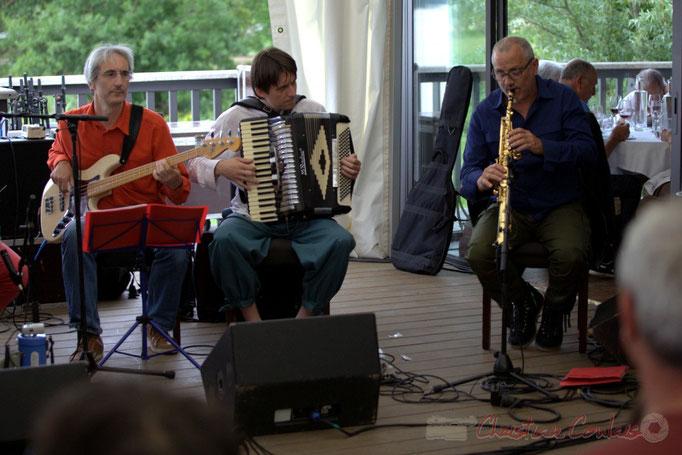 Festival JAZZ360 2015, Peuple Etincelle / François Corneloup, Camblanes-et-Meynac. 13 juin 2015
