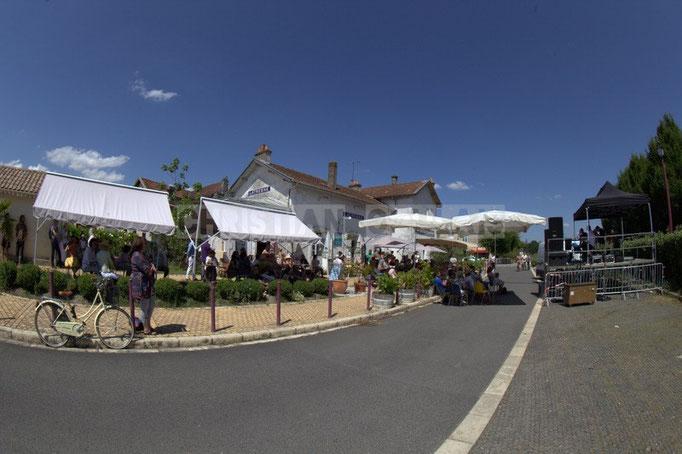 Festival JAZZ360 2014, piste cyclable Roger Lapébie, ancienne gare de Latresne, 08/06/2014