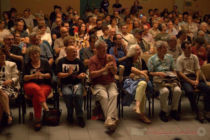 Festival JAZZ360 2015, Action Jazz au premier rang, Salle culturelle, Cénac. 13/06/2015