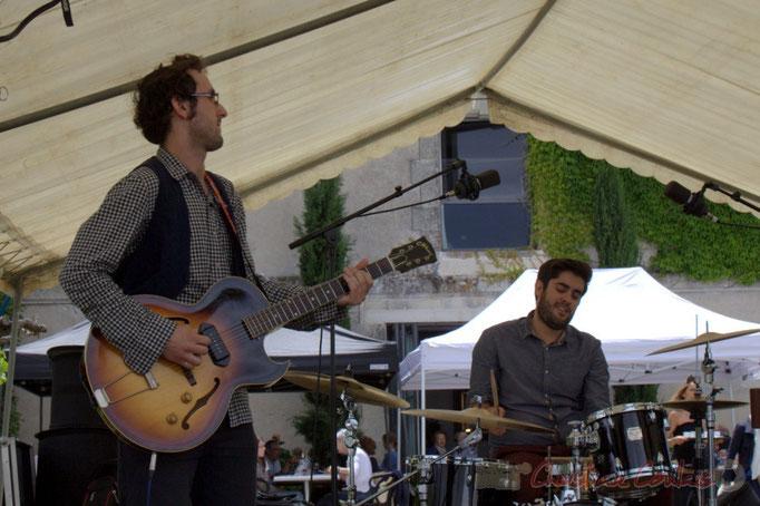 Festival JAZZ360 2015, Charlie Dufau, Julien Lavie; Electro Boots. Château Lestange, Quinsac. 14/06/2015