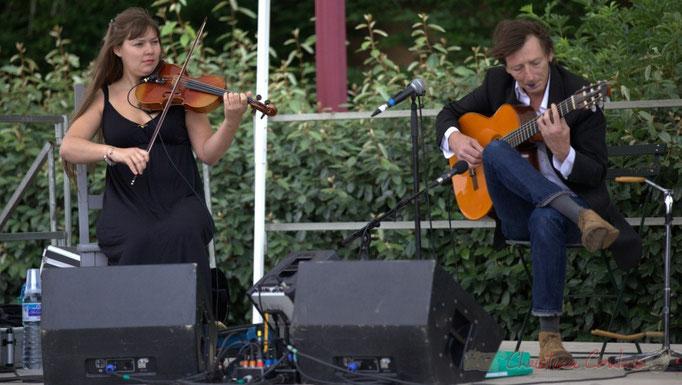 Festival JAZZ360 2015, Adèle Docherty, Loïc le Guillanton, Züm Trio, Latresne, 14/06/2015