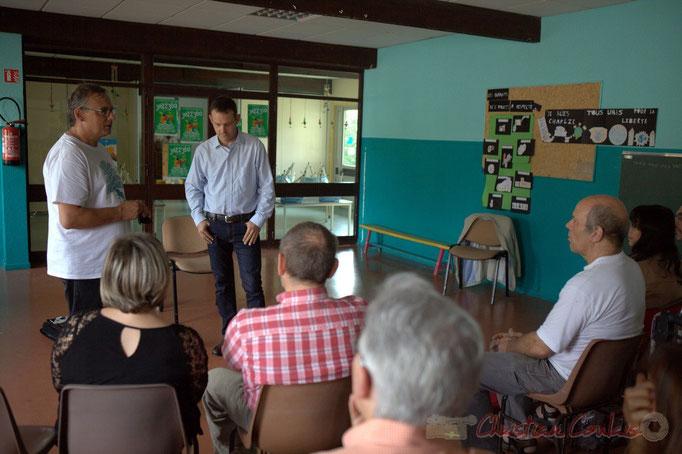 Festival JAZZ360 2015, Richard Raducanu présente Thomas Savy et le principe de la conférence jouée. 13/06/2015