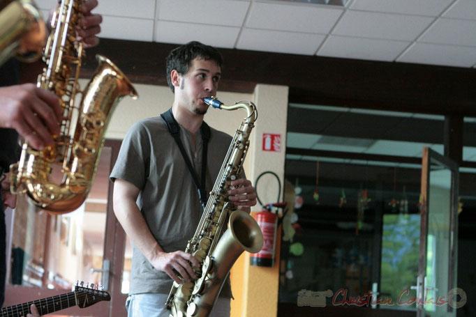 Paul Robert, MasterCalss de Médéric Collignon, Festival JAZZ360 2011, Cénac; 04/06/2011