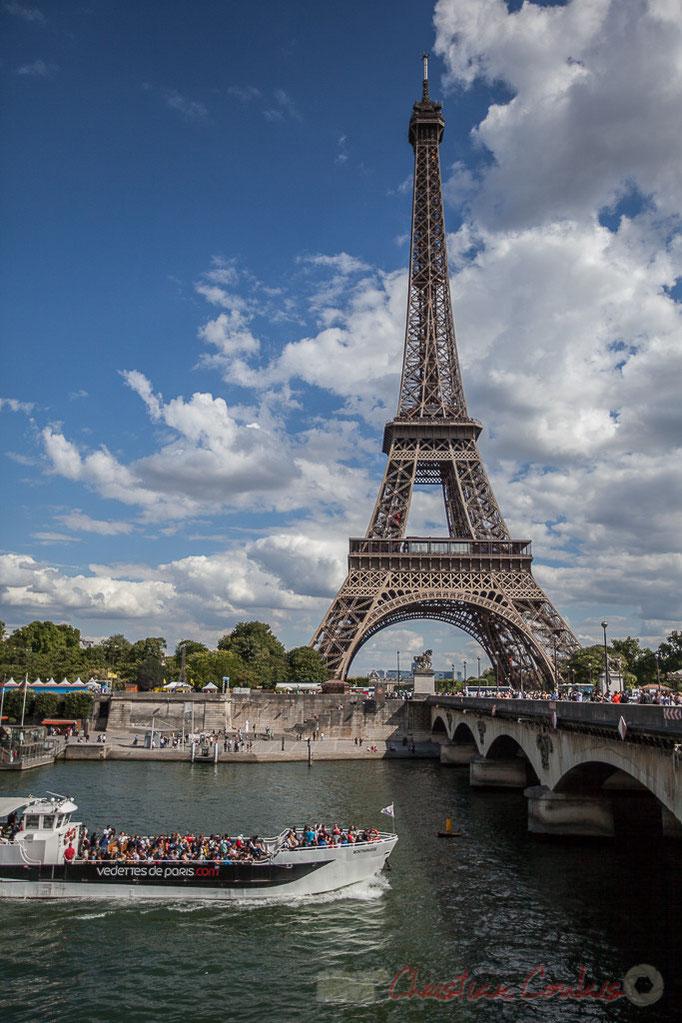 Pont d'Iéna / Quai Branly, Tour Eiffel, Paris 16ème