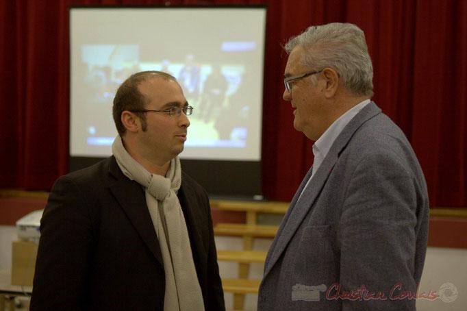 Christophe Miqueu et Jean-Marie Darmian